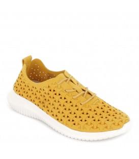 Zapatillas sport ligeras caladas para mujer