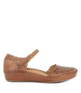 Sandalia semicerrada para mujer