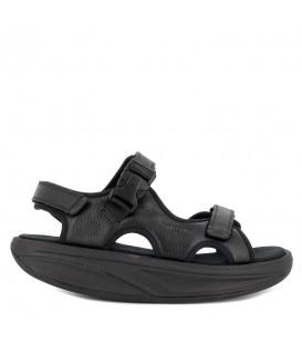 Sandalias de piel MBT para hombre suela curva