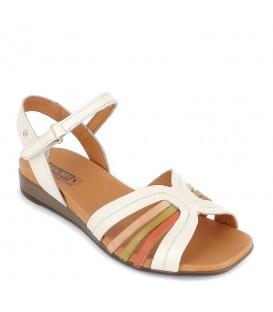 Sandalias cuña baja verano para mujer