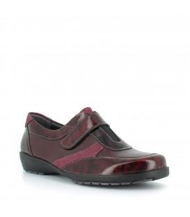 Zapato de piel cierre de velcro