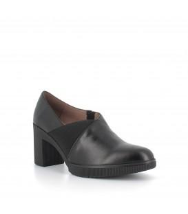 Zapato tacón charol con elástico