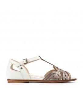 Sandalia de mujer de piel cómodas