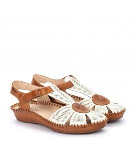 Sandalias de mujer en piel cómodas