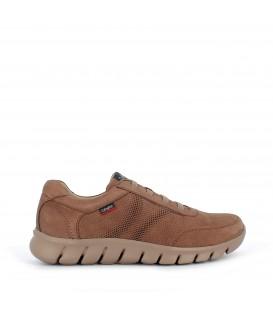 Zapato deportivo en piel nobuk para hombre CALLAGHAN