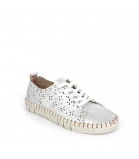 Zapatillas cómodas en piel