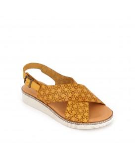 Sandalia de piel PEPE PARRA