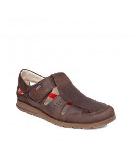 Sandalia de piel para hombre CALLAGHAN