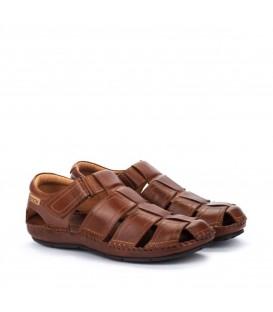 Sandalias de hombre en piel cómodas