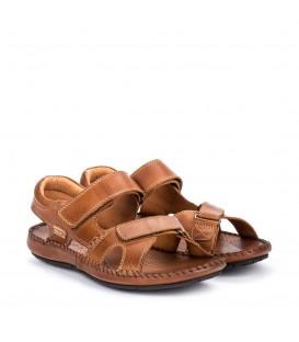 Sandalias californianas de hombre en piel cómoda
