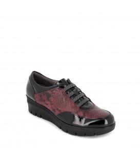 Zapato en piel charol para mujer