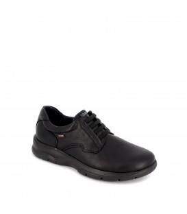Zapato de piel cómodo para hombre